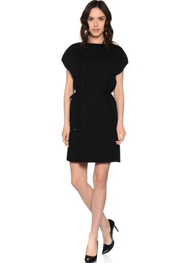 Yarım Kollu Günlük Kısa Elbise-Fabrika